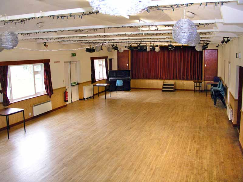 Main Hall – Empty