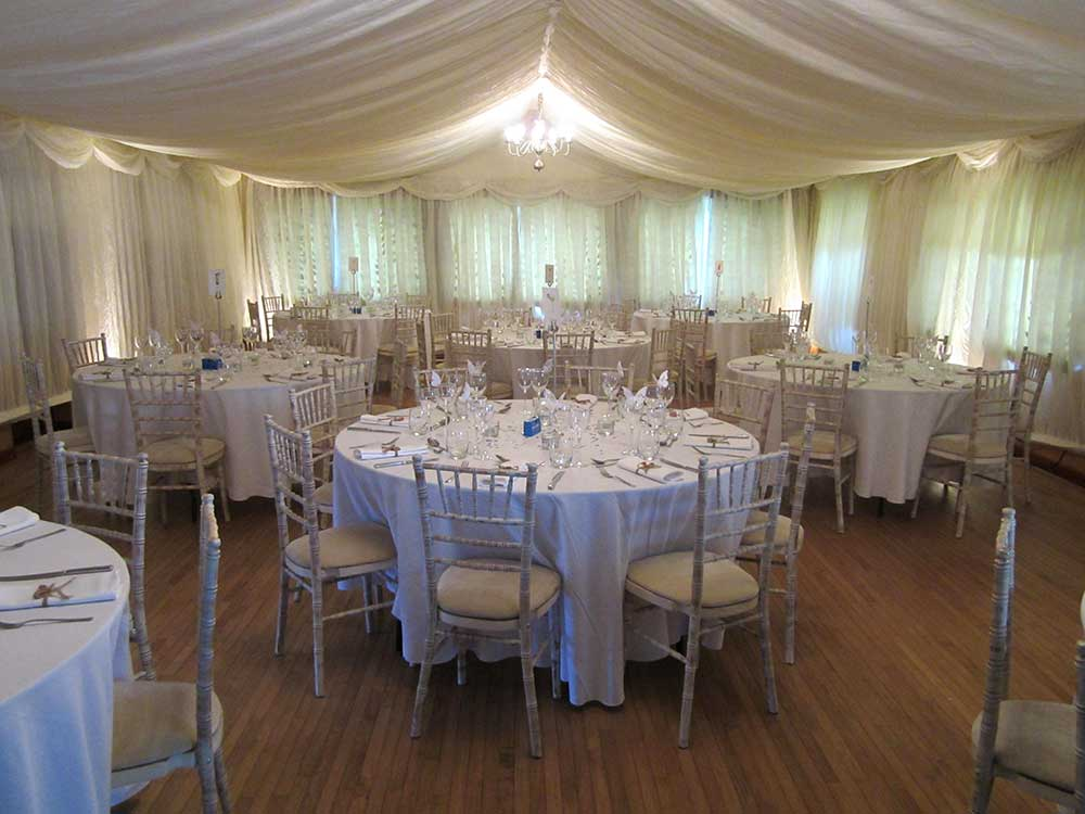 Professionally Decorated Wedding Reception 1
